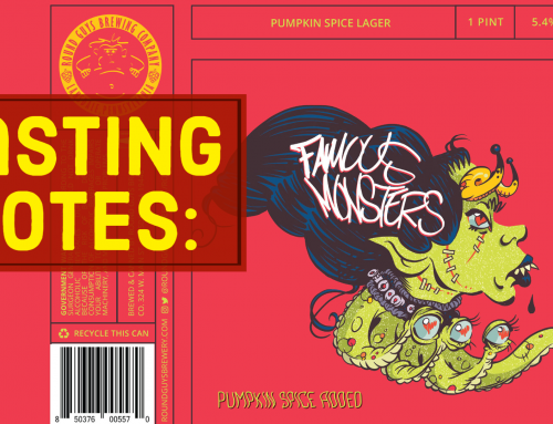 Tasting Notes – Famous Monsters Pumpkin Lager