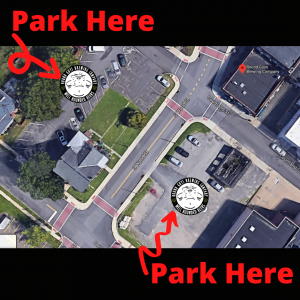Round Guys Brewing Company parking map