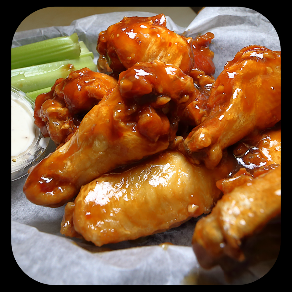 Special Wings Sauce at Round Guys Brewing Company in Lansdale, PA.