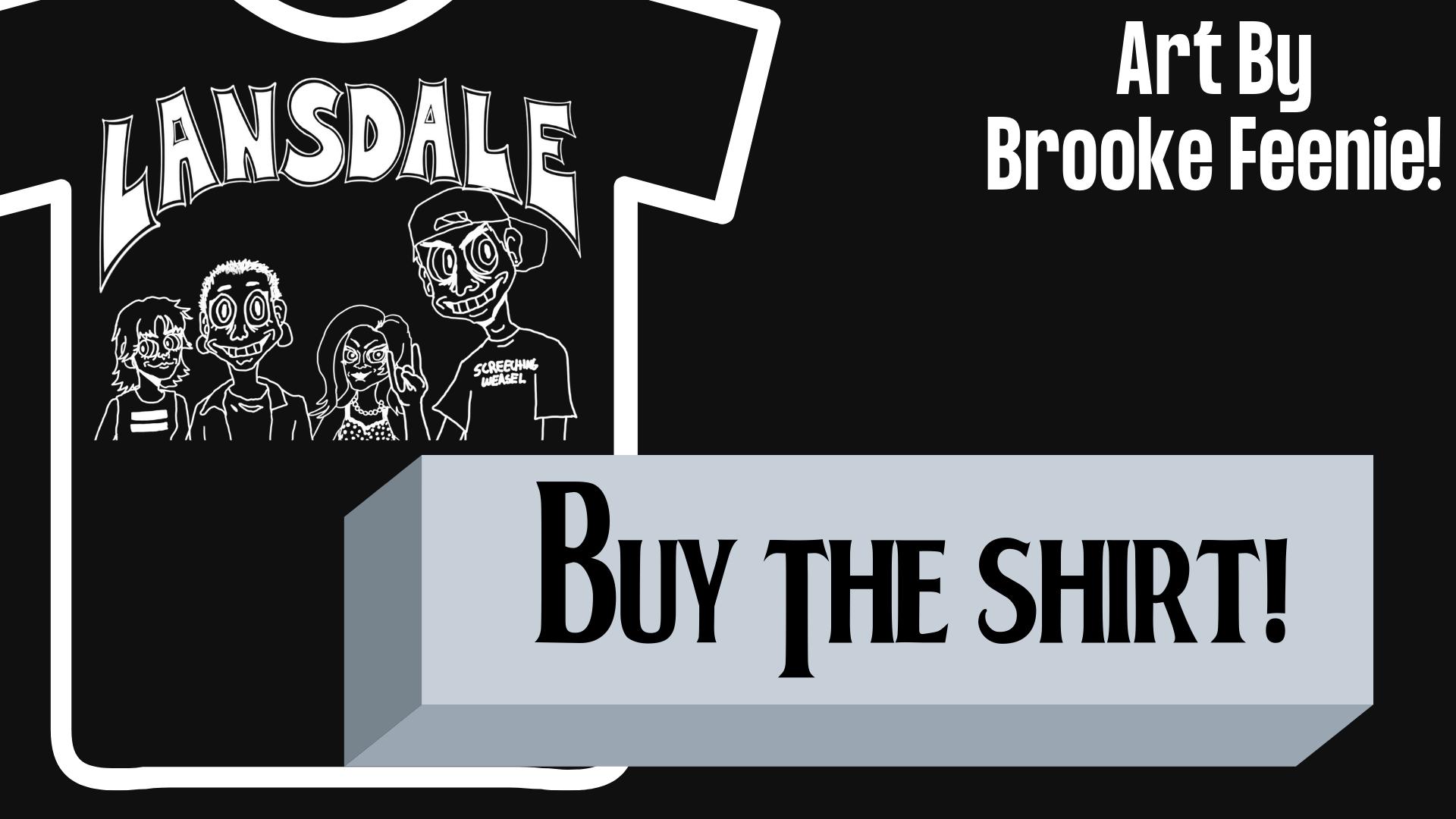 Buy the Lansdale Punk Rock Flea Market Shirt!
