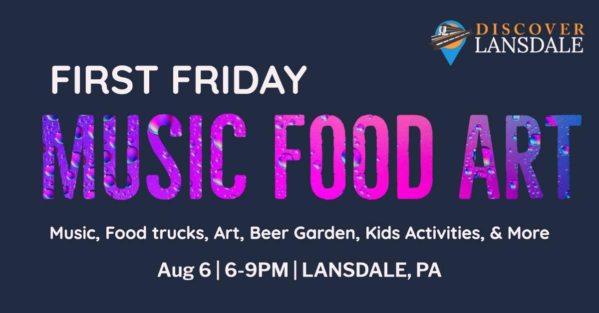 Lansdale's First Fridays at Round Guys Brewing Company!