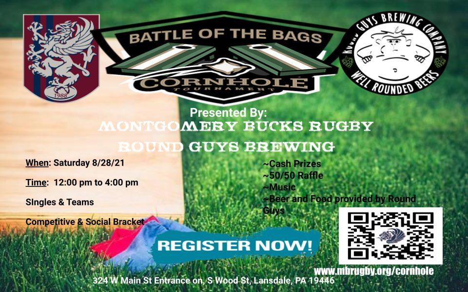 Cornhole Tournament at Round Guys Brewing Company!