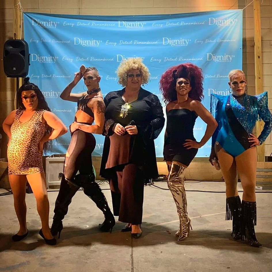 Ladies of Lansdale Drag show at Round Guys Brewing Company in Lansdale, PA.
