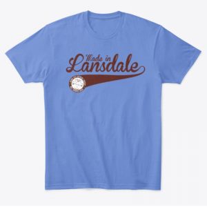 Made in Lansdale T-Shirt Design from Round Guys Brewing Company in Lansdale, PA.
